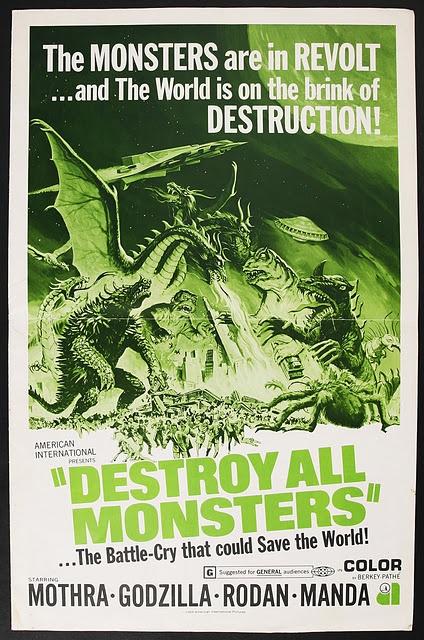 "Godzilla, ""Destroy All Monsters!"""