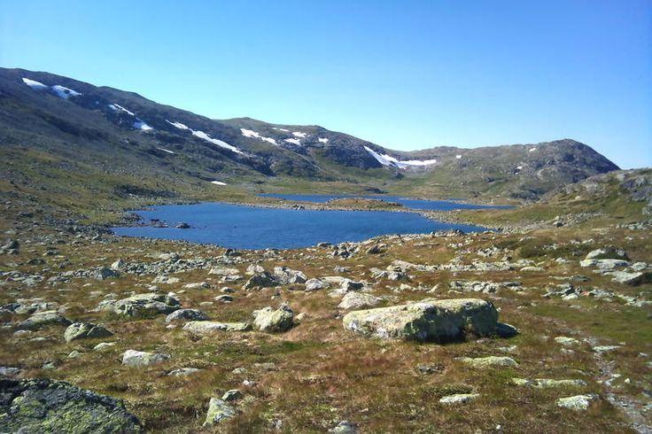Reinsbotnan i vakker høgfjellsnatur