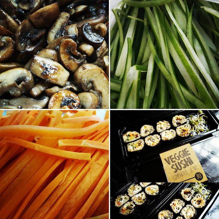 Casi todo listo para el sushi... Apurate antes de que de acabe! #sushi #vegansushi #veganfood #veggiefood #vegetables #natural #fresco #saludable #comidaviva #comidasana #comidasaludable #vidasaludable #vidasana #healthy #healthyfood #healthylifestyle #comfortfood #glutenfree #fit #fitness #eatclean #lunchtime #almuerzo #detox