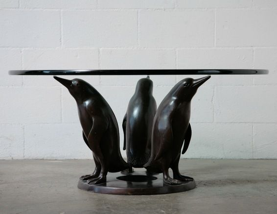13 best home - furniture (bronze glass sculpture coffee table