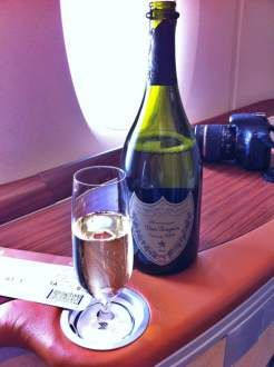 One of the first things you're offered in Suites on Singapore Airlines is your choice of Dom Pérignon or Krug. Want to see how good the rest of the food and drink is? Or check out the Givenchy PJs? Click on through to check it out…