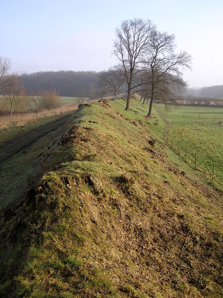 The Danevirke is a system of Danish fortifications in Schleswig-Holstein. This important linear defensive earthwork was constructed across the neck of the Cimbrian peninsula during Denmark's Viking Age. It was last used for military purposes in 1864.