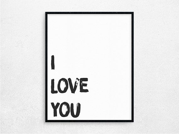 Valentine's Poster Valentine's Day Valentine by PaperIslandDesign