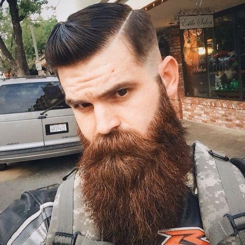Beautiful brown beard