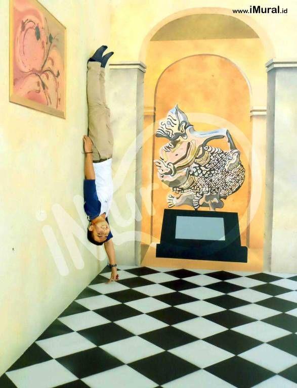 Mural, Jasa Mural, Jasa Lukis Dinding, Jasa Mural Batam, Jasa Lukis Dinding Batam, Batam Museum 3d, 3d trick art, jasa 3d trick art