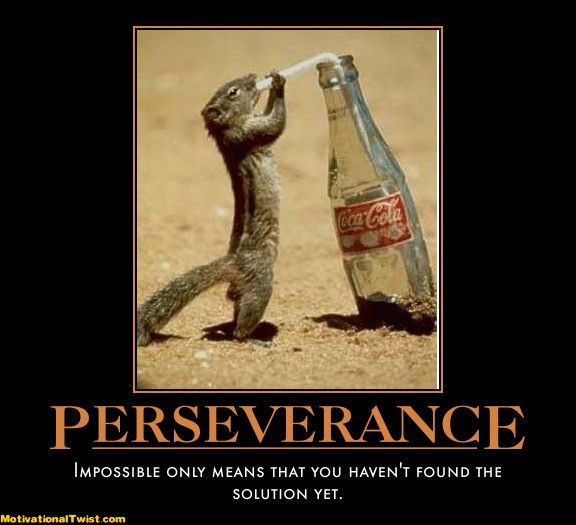 Persistence Motivational Quotes: 21 Best Motivational Posters