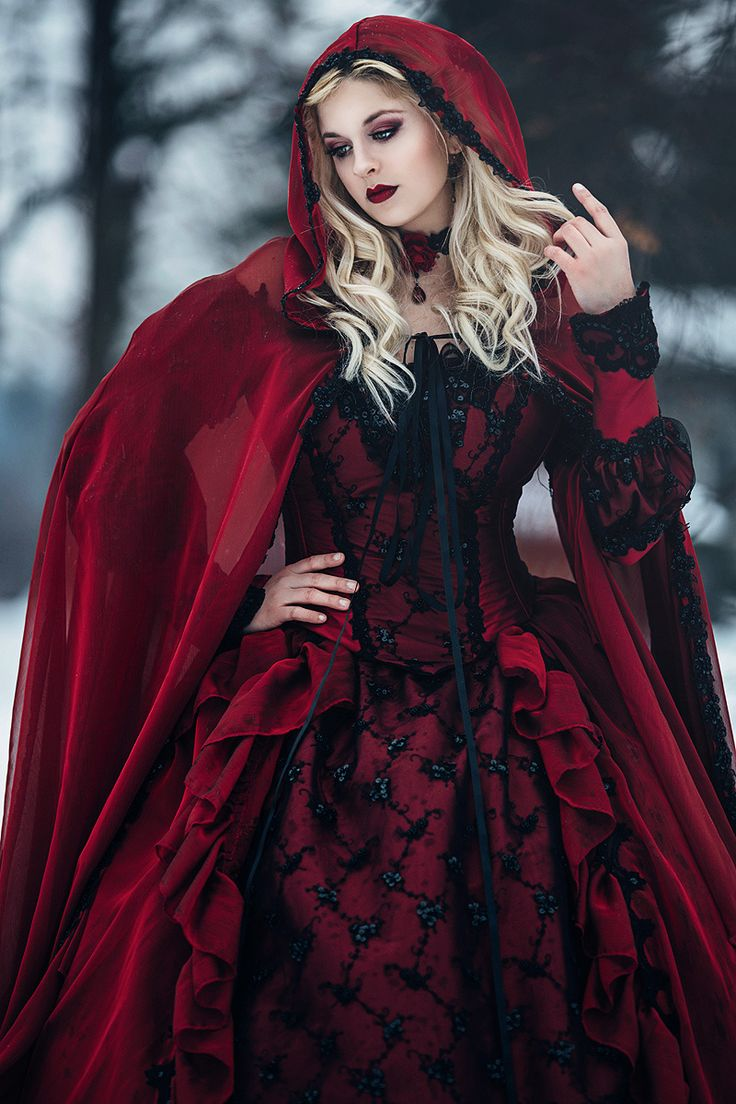 Red and black wedding dress   best Magical Refrences images on Pinterest  Underwater