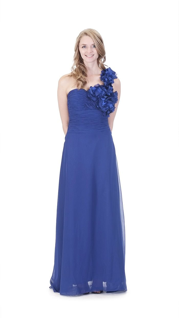 58 best Style: One-Shoulder Bridesmaids Dresses images on Pinterest ...