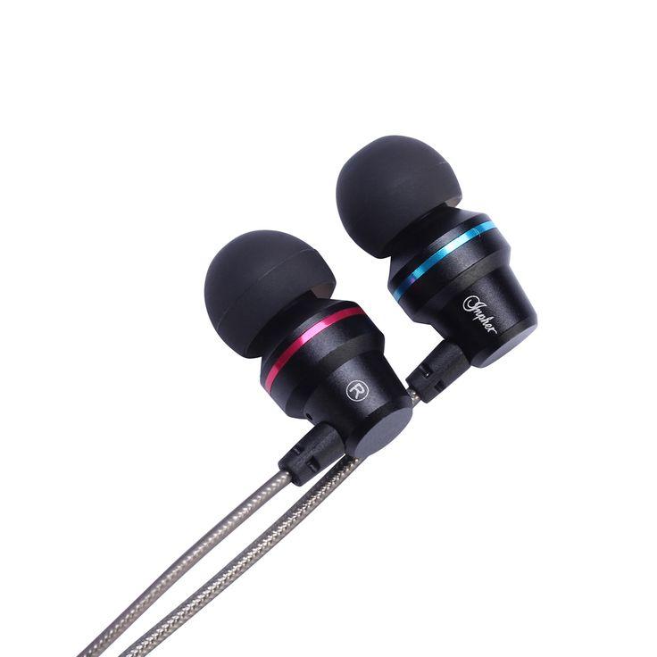 Venta caliente de 3.5mm Para Auriculares auriculares De Metal Auriculares In-Ear Para equipos de teléfonos Móviles Auriculares auriculares para el teléfono MP3 MP4