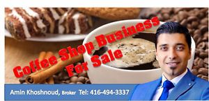 Coffee shop for sale in mall ( Thornhill ) Markham