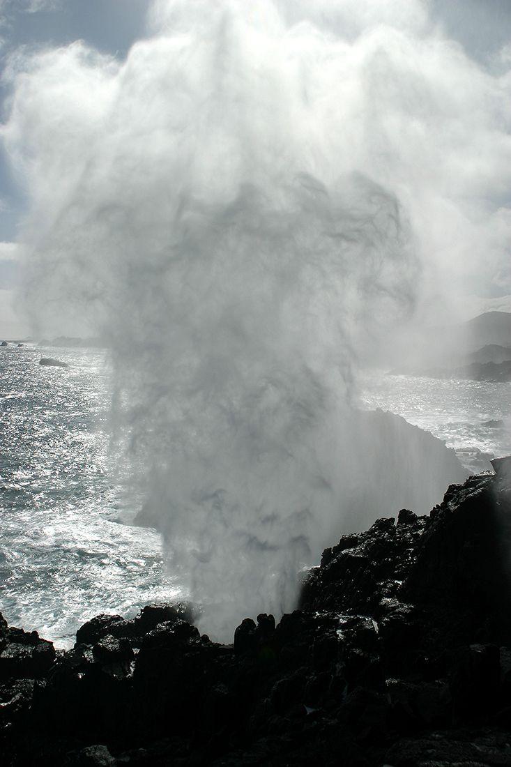 El Puquen, Los Molles, Chile, South America. Natural ocean geyser landscape photo by Pablofoto.rivera@gmail.com