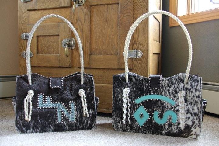 I want this w/ my brand on it!!! Custom handmade western cowhide purses