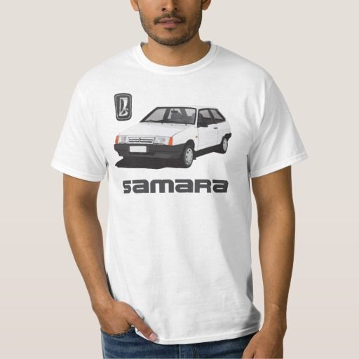 Lada Samara | ВАЗ-2109 | VAZ-2109, DIY, white #lada #samara #vaz-2109 #sputnik #ВАЗ-2109 #russia #automobile #tshirt #white