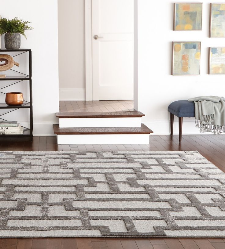 A Geometric Design Yet Simple Color Scheme Means Our Classic Area Rug Has  Modern Style And