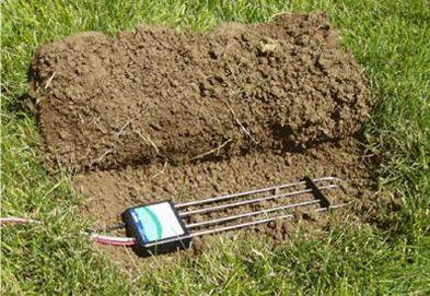 Sensores de tierra, miden humedad, minerales, entre otros.