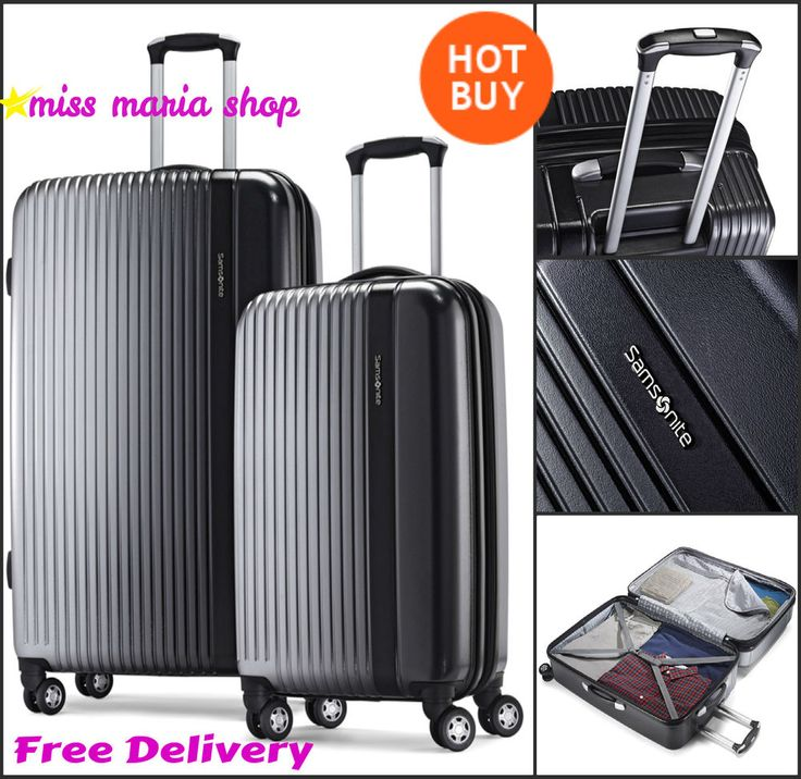 Samsonite Suitcase Spinner  Luggage Set Hard Shell 4 Wheel 2 Pc 28 /19  Hardside