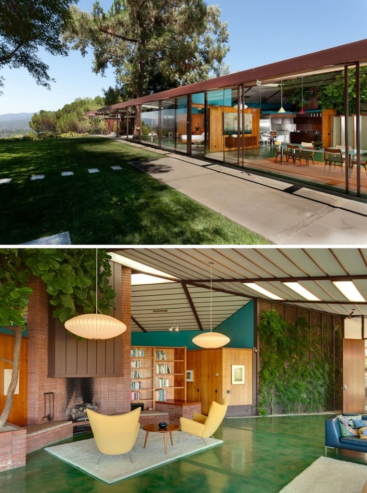 Ojai, California Architect: Rodney Walker. Project Name: The Walker  Residence