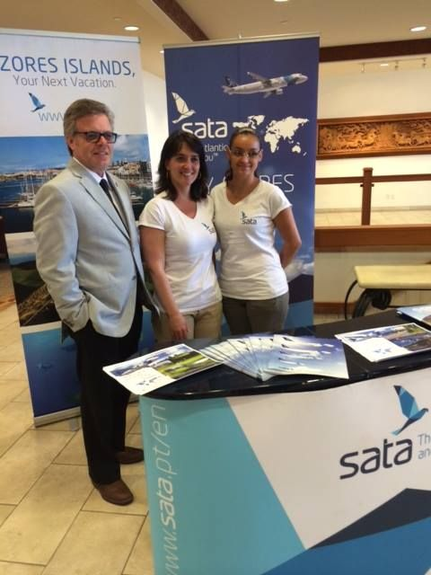 "We hosted SATA Airlines at Four Points Toronto Airport with our ""Taste of the Azores"" lunch. Book your flight to the Azores today! https://www.sata.pt/en/content/home-page"