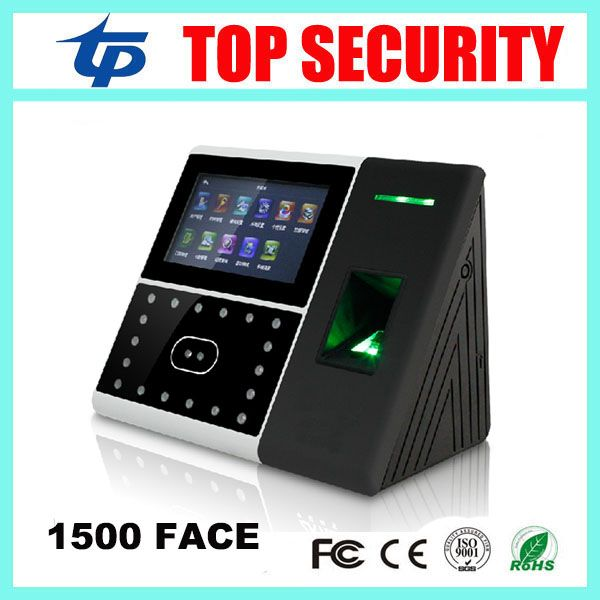 Free shipping good quaity 1500 face capacity fingerprint time attendance and access control with faca recognition #Affiliate