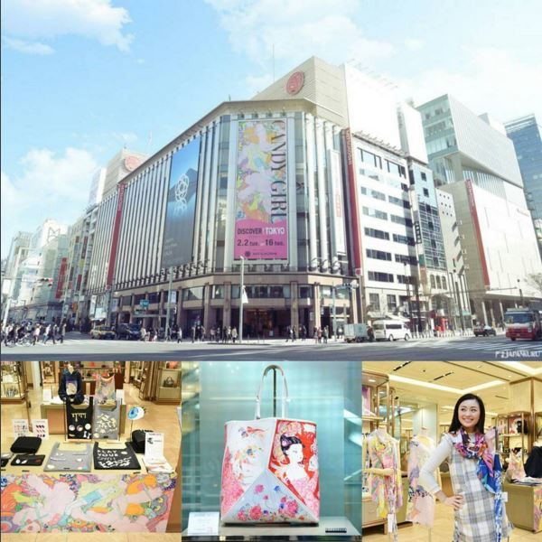 Japanese pop Culture is cool♡ @ GINZA MITSUKOSHI ★CANDY GIRL by DISCOVER!TOKYO 2/2~2/16 #japankuru #japan #cooljapan #tokyo #100tokyo #mitsukoshi #ginza #ginzamitsukoshi #popculture #candygirl #shopping