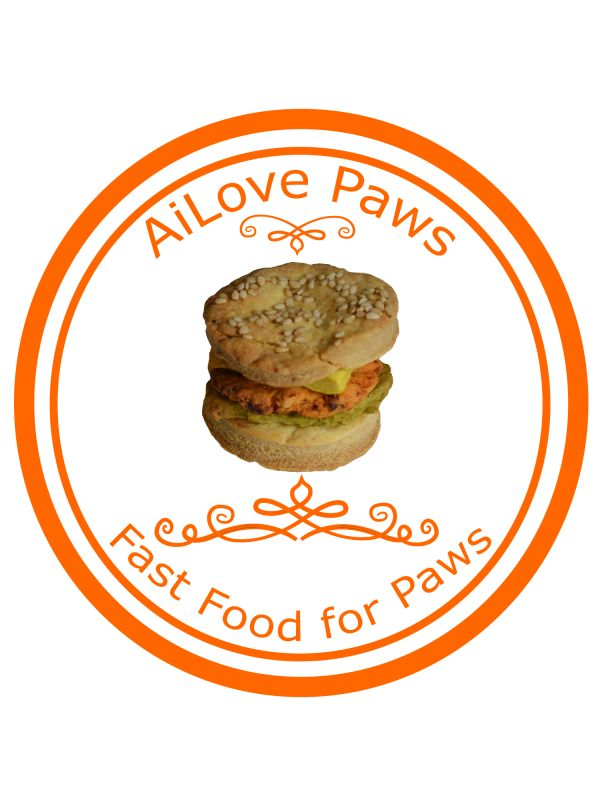 Novelty Bow-ger Dog Hamburger  Your paw is sure to enjoy a Bow-ger - part of AiLove Paws Healthy Fast Food range.  Just don't tell them it's actually healthy!   No Artificial Colours!