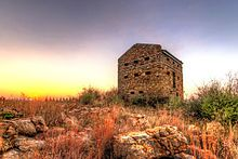 Blockhouse - in Vereeniging Gauteng Province South Africa. This one is not as well preserved.