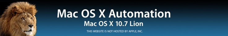 MacOSX 10.7 Lion Automation Release Notes -Text to ePub files