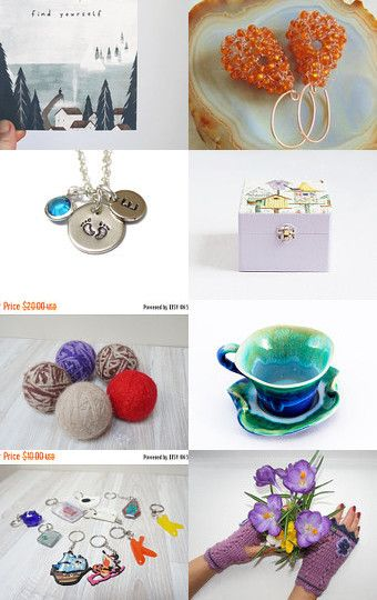 Colorful farewell to Ts.... by Ingrida on Etsy--Pinned+with+TreasuryPin.com