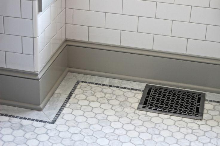 Bathroom Floor Tile Baseboard : Best ideas about baseboard trim on