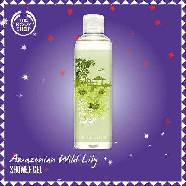 Amazonian Wild Lily shower Gel