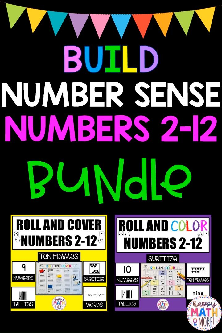 Roll And Cover Roll And Color 2 12 Number Sense Addition Math Centers Bundle Video Video In 2020 Addition Math Centers Kindergarten Math Number Sense Kindergarten Math Numbers