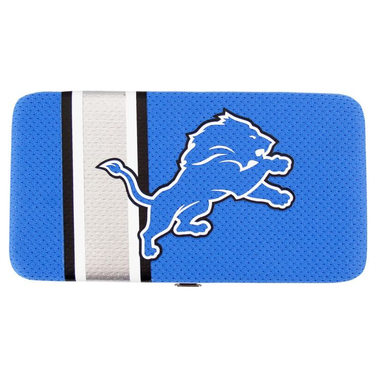 NFL Detroit Lions Shell Mesh Wallet, Women's