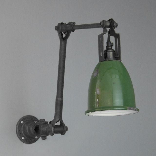 Vintage Industrial lighting by Dugdills   Period Lighting   Wall Lights   Skinflint
