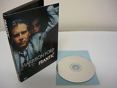 Frantic DVD FULLSCREEN Action Adventure Harrison Ford Betty Buckley John Mahoney