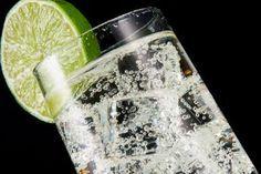 Vodka Tonic Cocktail Recipe - 2 ounces vodka Tonic water Splash of fresh lime juice Lime wedge for garnish