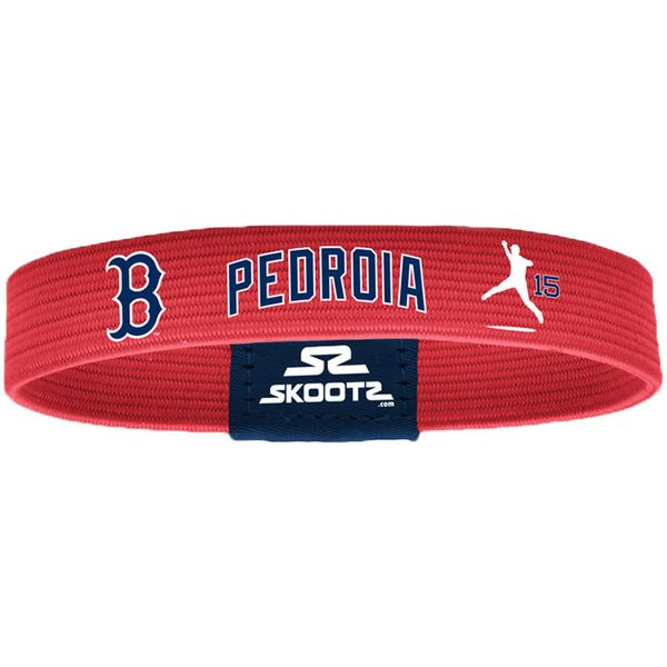 Dustin Pedroia Boston Red Sox Skootz Shadow Bandz - Red - $7.99