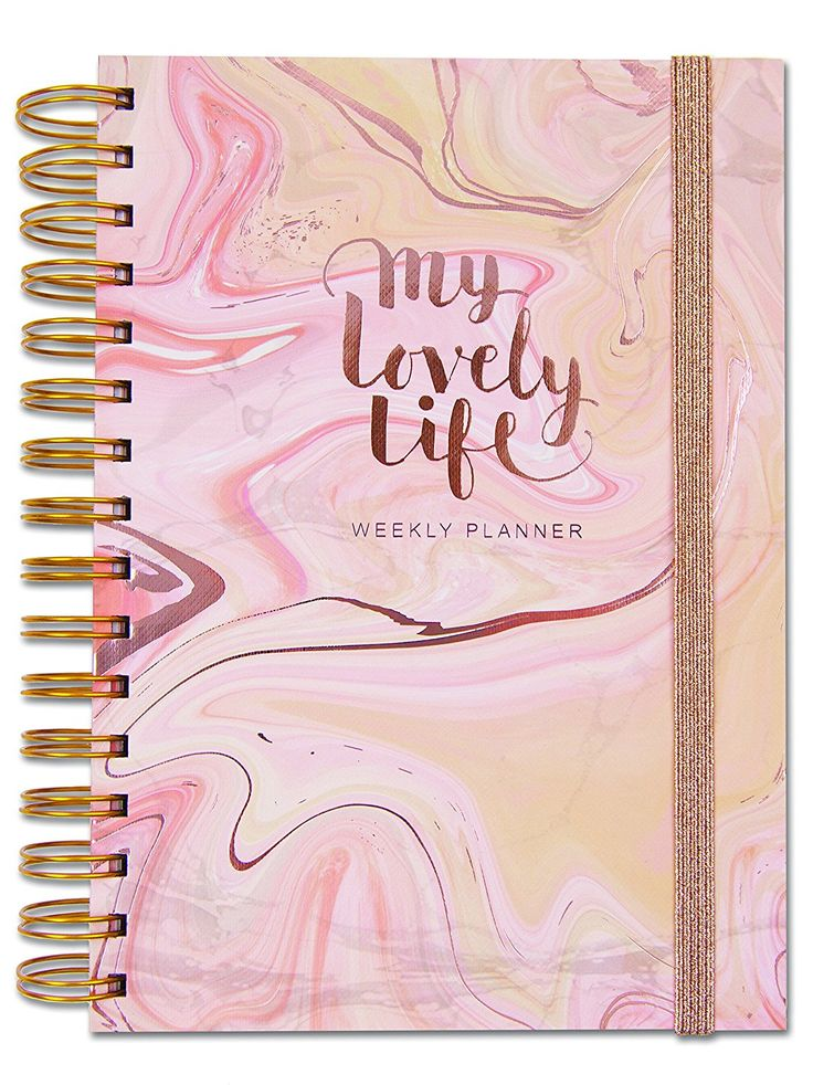 Rachel Ellen Designs Personal Organiser - My Lovely Life - A5 Undated Weekly Planner With To Do, Lists, Notes, Stickers, Pockets