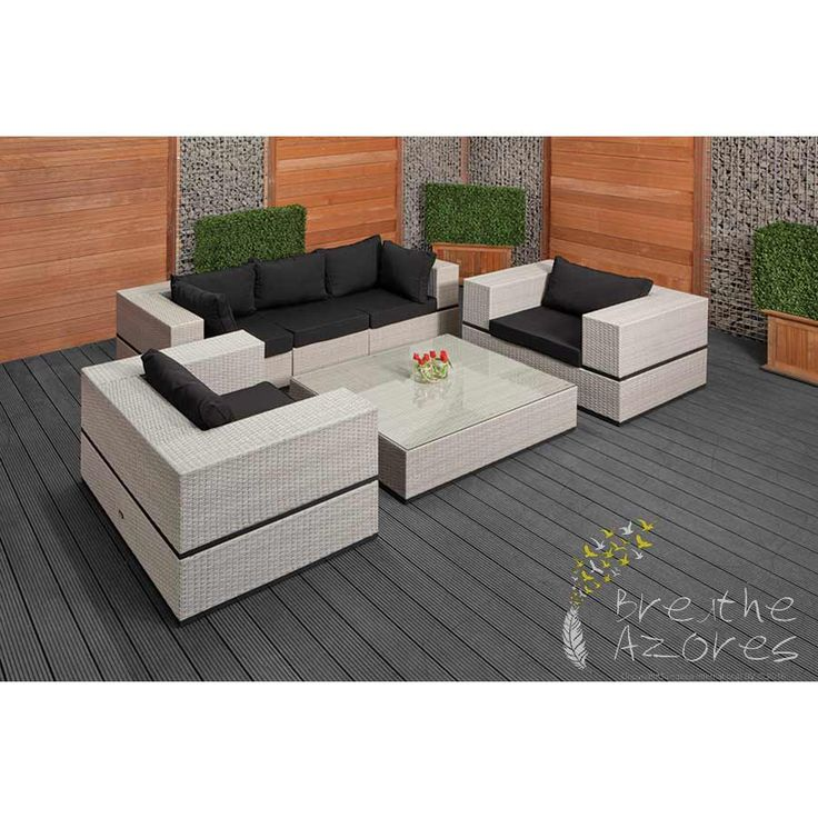 put together a beautiful lounge set exactly the way you imagined it all units from the napoli modular garden furniture range can be ordered separately - Garden Furniture The Range