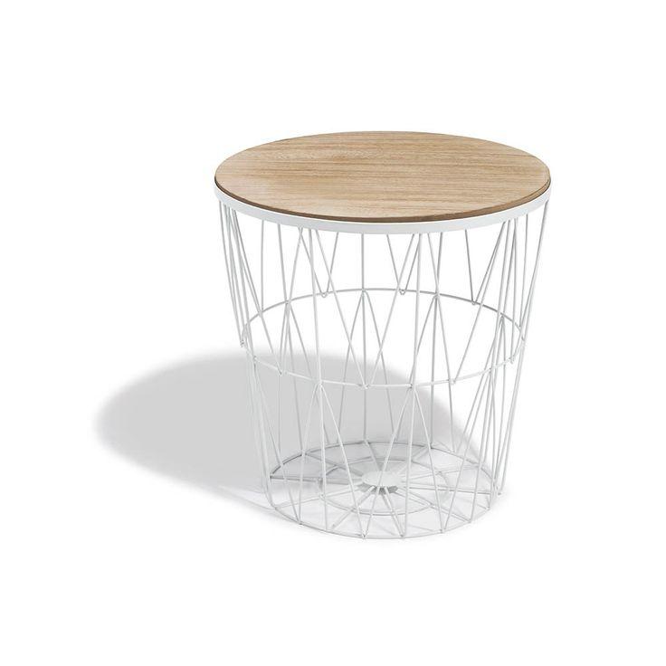 Bout De Canape Blanc Gaelle Plateau Amovible Table Basse Et D Appoint Salon Meuble Avec Images Bout De Canape Canapes Blancs Table De Chevet