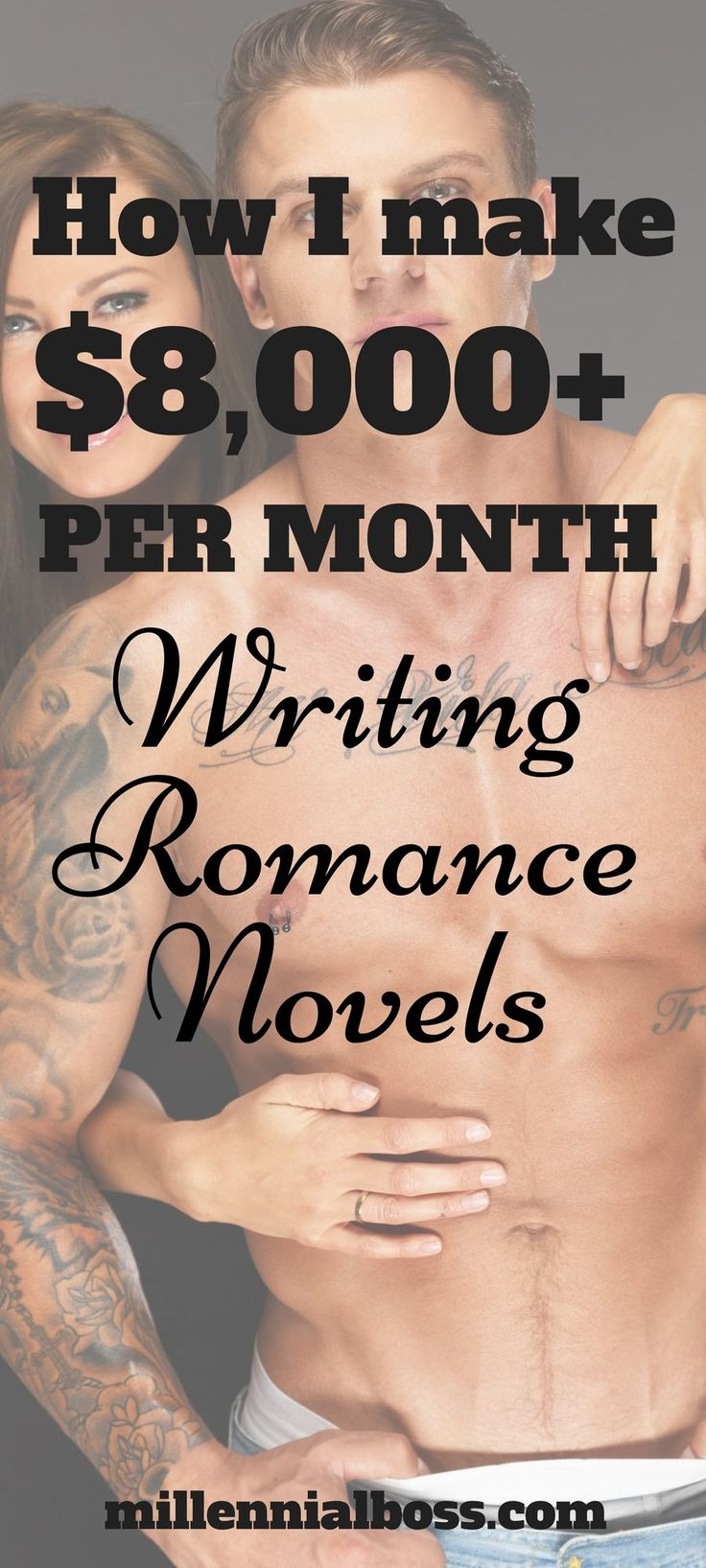 I LOVE this very, ahem, unique side hustle idea! How to make money writing stories | Romance novels to read | side hustle for women | how to write an ebook