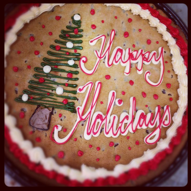 Cake Designs At Albertsons : Albertsons cake. Holiday cookie cake Haggen Del Mar ...