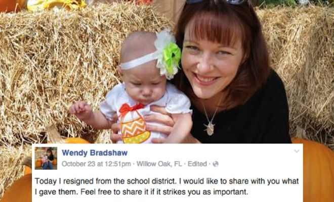 A Teacher / MOM Wrote Eye Opening Letter for Resignation. Parents Everywhere STILL Freaking Out.