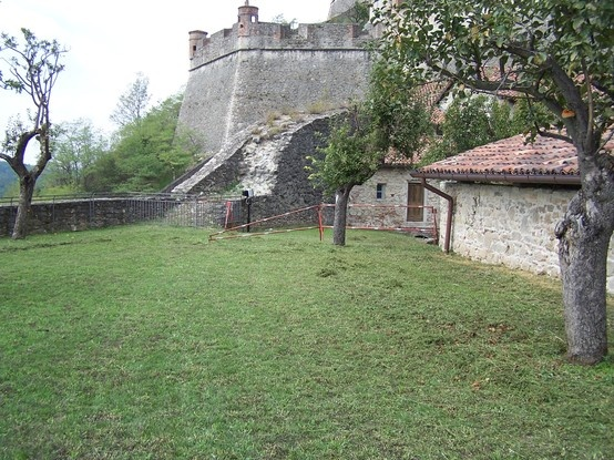 Gavi Fortress Bastioni della Mezzaluna - opere di messa in sicurezza (ph. arch. Alma Pasero)