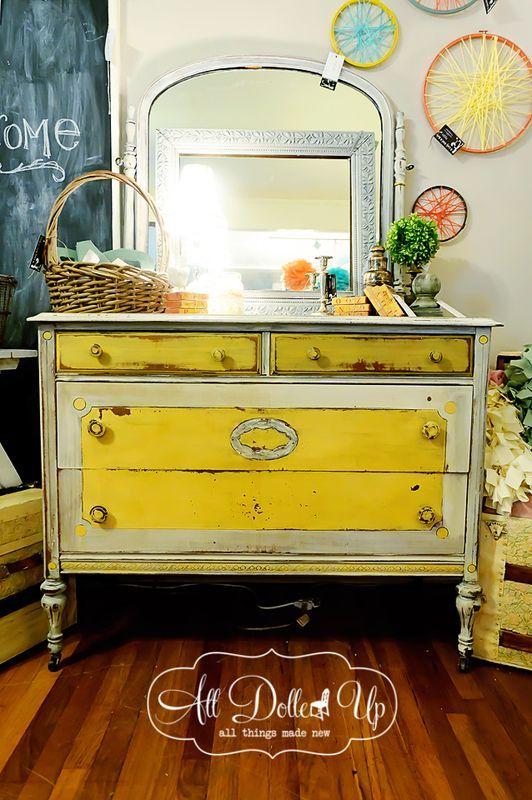 Best 25+ Yellow dresser ideas on Pinterest   Yellow painted ...