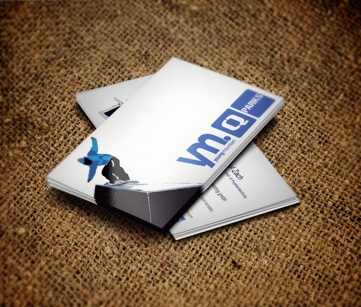 Visitenkarten für Q Parks #visitenkarten #grafikdesign #printdesign #corporatedesign #branding #agenturpixualis #pixualis