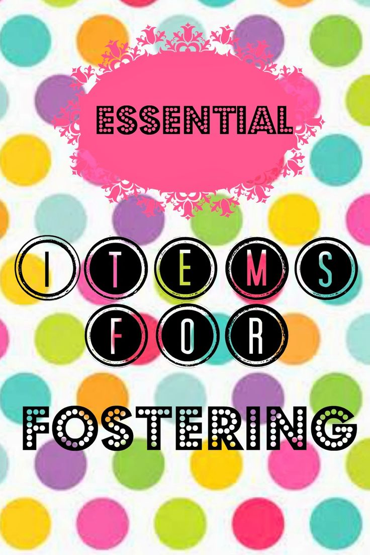 Young, Single, And Adopting: Essential items for Fostering
