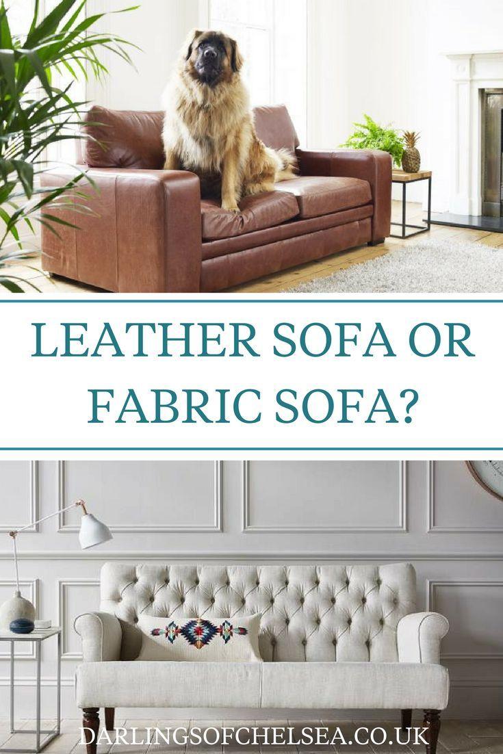 Leather V Fabric Sofas Fabric Sofa Contemporary Leather Sofa