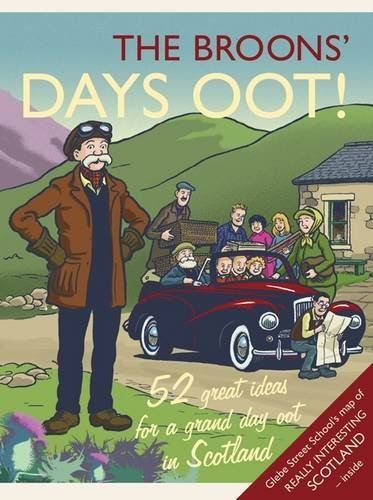 The Broon's Day Oot by Broon Family.  Publication: June 4, 2009. Author: David Donaldson. Publisher: Waverly Pr; Pap/Map edition (June 4, 2009). We have this book and it goes with us whenever we go on holiday!