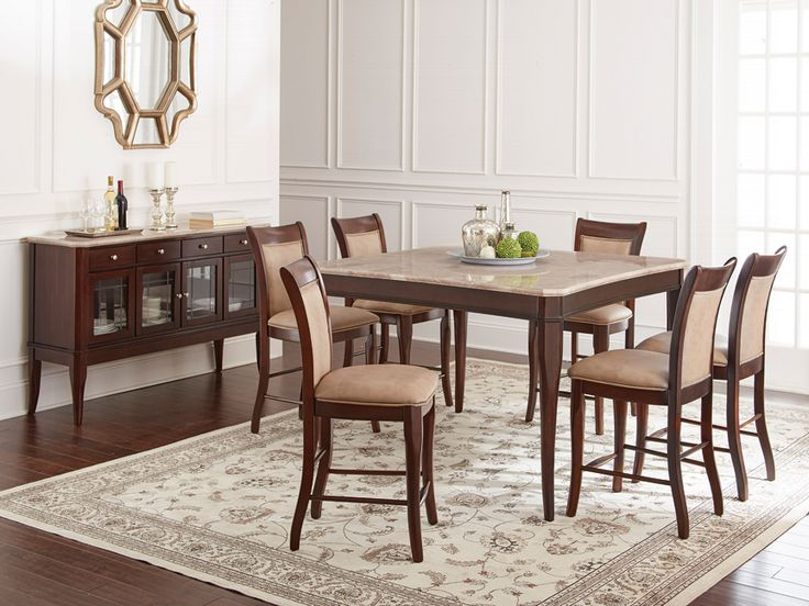 28 best delectable dining rooms images on pinterest dining room dining room sets and table. Black Bedroom Furniture Sets. Home Design Ideas