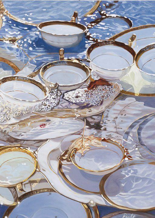 Leslie Parke #art #paintings http://artsyforager.wordpress.com/2011/09/20/not-your-average-photo-realism/